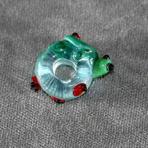 (5mm hole) Turtle with ladybugs