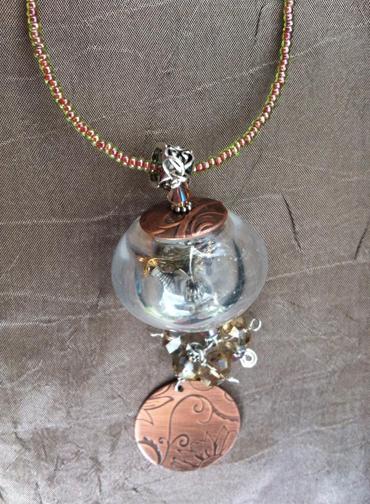 Steampunk Watch Gear Filled Pendants Copper Disc