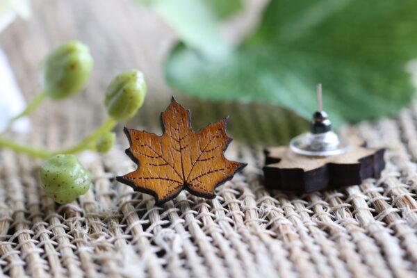 Yellow Maple Leaf 1-2