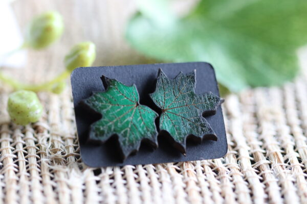 Green Maple Leaf 1